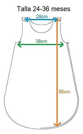 Saco de Dormir para beb/é Bordado con EL Nombre del BEB/É Varios Modelos y Tallas Disponibles