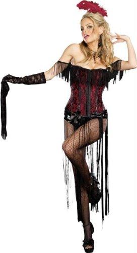 Burlesque Beauty Costumes (Burlesque Beauty Adult Costume - X-Large)