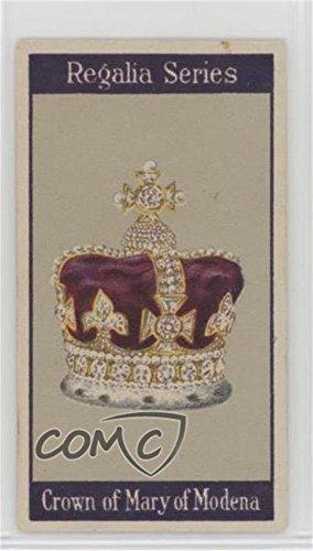 (Mary of Modena Ungraded COMC Poor to Fair (Trading Card) 1925 Turf Regalia Series - Tobacco [Base] #15 )