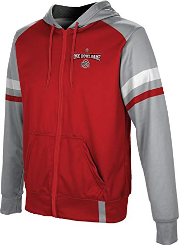 ProSphere Rose Bowl 2019 - Ohio State University Men's Full Zip Hoodie - Old School FF16