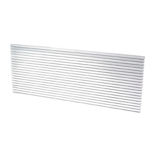 Fragment PTAC Grille, Aluminum Architectural, 42'' x 16'' -Clear by Fragment