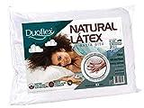 Travesseiro Natural Duoflex Branco 50x70 cm Espuma 100% Látex