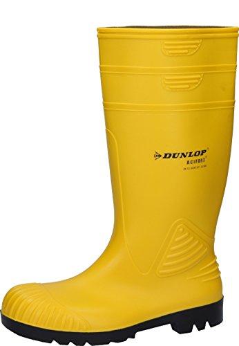 Dunlop ENSCHEDE - Botas de agua unisex amarillo