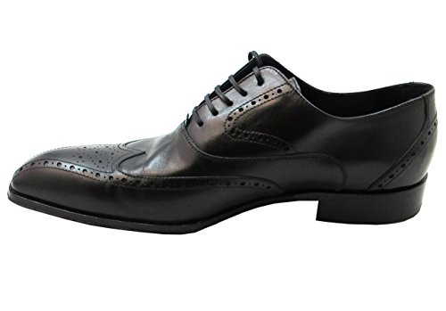 Doucals Mens Italian lace up dress/casual shoes Black vgPgdhvzf