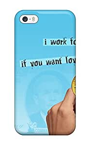 For Iphone 5/5s Premium Tpu Case Cover Mocking Protective Case
