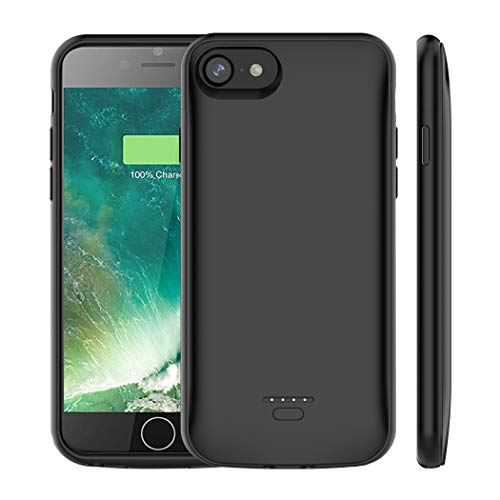 (Upgraded)iPhone 6s Plus /6 Plus Battery Case, AUYOO 5500mAh Portable Charger Case Ultra-Thin Rechargeable Extended Battery Pack Protective Backup Charging Case Cover for Apple iPhone 6s Plus /6 Plus