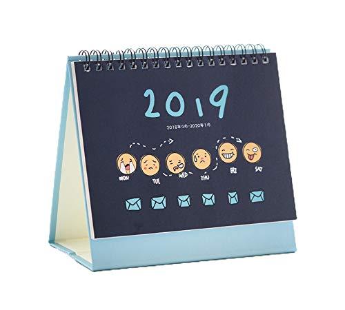Desk Calenda Academic Year August 2018-2019 Calendar Planner,C14 by DRAGON SONIC