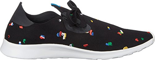 White Sneaker Rubber Jiffy Moc Apollo Shell Native Black Fashion Chipped Unisex InqfAzaw