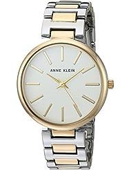 Anne Klein Womens AK/2787SVTT Two-Tone Bracelet Watch