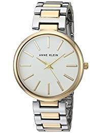 Anne Klein Women's AK/2787SVTT Bracelet Watch, Two-Tone