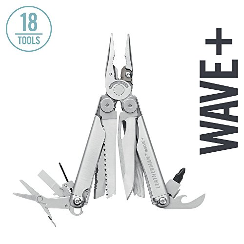 Leatherman - Wave Plus Multitool, Stainless Steel