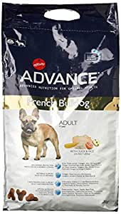 Advance pienso para Perro French Bulldog Pato y arroz 3 kg – Pack de 4