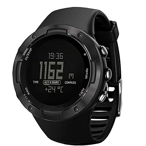 RSGK Smart Outdoor Sport Horloge, Running Zwemmen Sport Horloge Hoogtemeter Barometer Kompas Waterdicht Digitaal Horloge