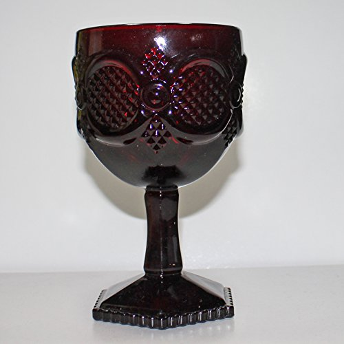 (Avon 1875 Cape Cod - Glass, Water Goblet)