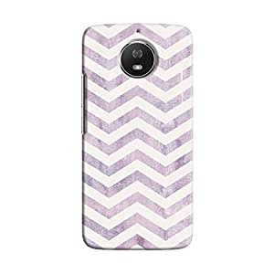cover It Up - Purple Bubblegum Print Moto G5s Hard case