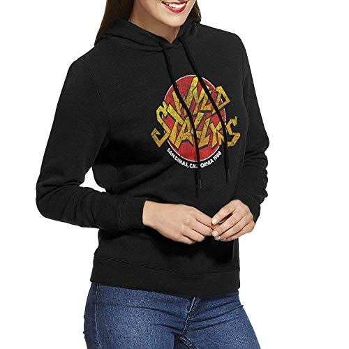 (ZPanter Bill Ted Women Long Sleeve Casual Hoodie Hooded Sweatshirt Drawstring)