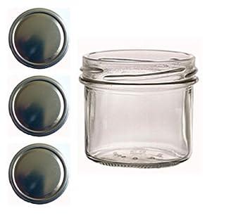 to 66 gold 40 frascos de cristal 125 ml para mermelada