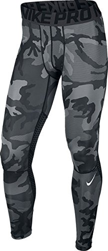 2b02582ef Galleon - Nike Mens Pro Hypercool CAMO Print Tights Black/Anthracite/White  Small