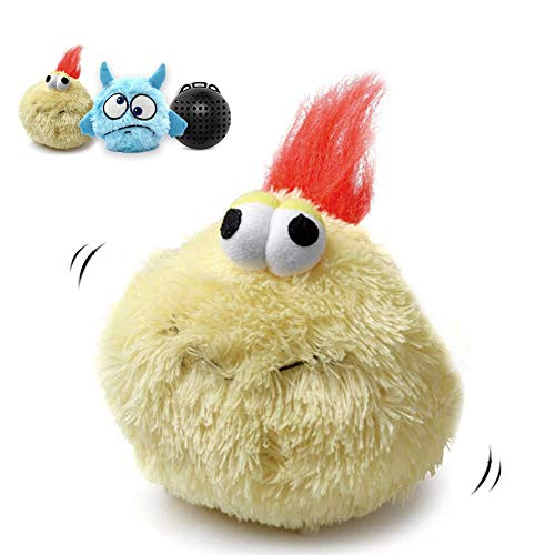 Cheap Heepark Interactive Dog Toy Plush Squeaky Giggle Ball Automatic Electronic Shake Crazy Bouncer Dog Toys for Exercise Entertainment Boredom Dogs Cats – Turkey Bird and Blue ELF Motorized Bouncing Toy