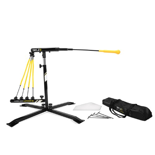 SKLZ Hurricane Category 4 Batting Trainer for Baseball and Softball (Batting Machine)