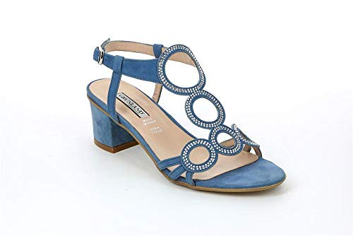 Sandalo Jeans Donna AULO SA1344 Grunland TOq7A66w