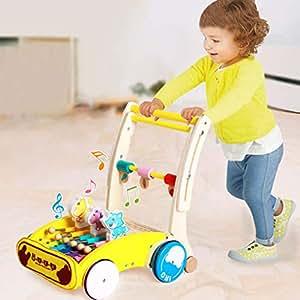 Amazon.com: Nivalkid - Carrito de madera para niños con ...