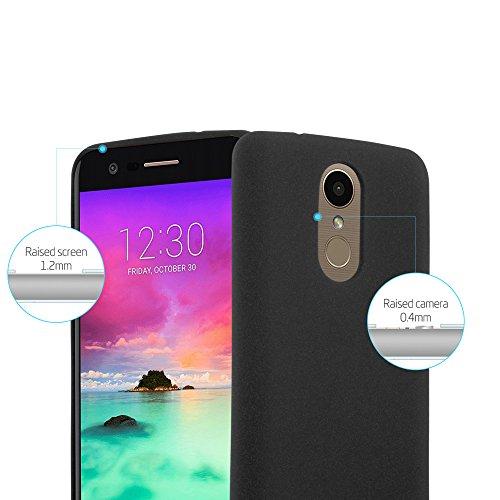 Cadorabo - Cubierta protectora para >                                      LG K10 (Modelo 2017)                                      < de silicona TPU en diseño Escarcha