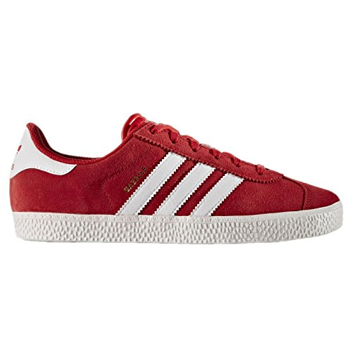 Adidas Youths Gazelle 2.0 Red Suede Trainers 7 US - Gazelle Trainers