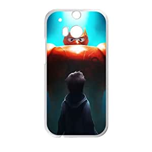 HTC One M8 Cell Phone Case White Big Hero 6 AG6118170