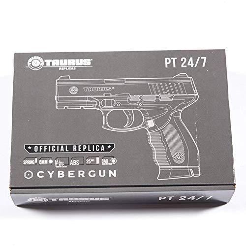 CyberGun Airsoft-Pistolet à Billes Taurus PT24/7 à Ressort-génération 2-Puissance: 0,5 Joule 4