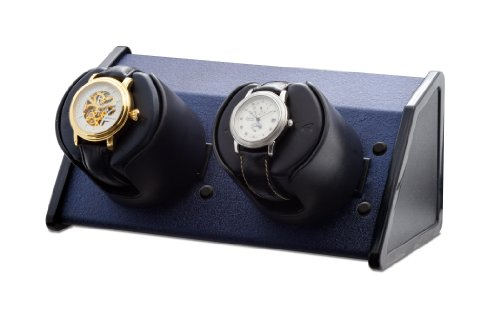 (ORBITA Sparta 2 Watch Winder in Bold Blue, Made in the USA )