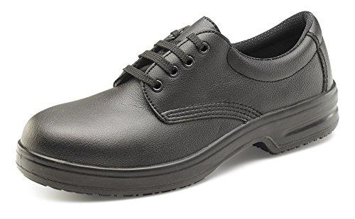 Sécurité À B Noir click De Lacets Microfibre Footwear Chaussures En 1tfxBFf