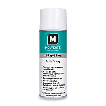 Molykote grpluss400 Multifunktions g-Rapid Plus Spray, Grün/Weiß, 400 ml