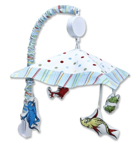 Trend Lab Dr. Seuss Musical Mobile- One Fish Two Fish