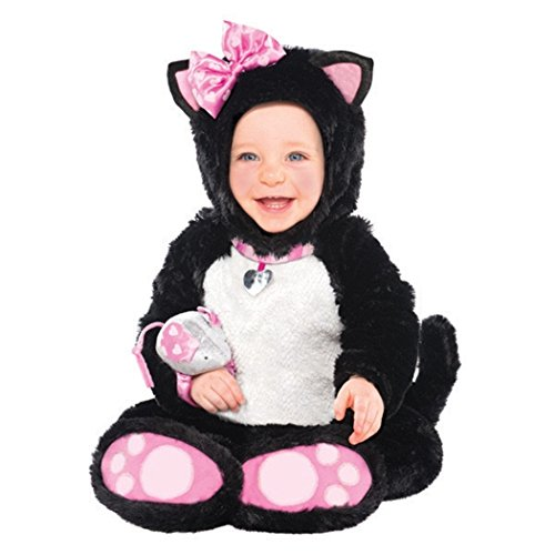 AMSCAN Baby Itty Bitty Kitty Halloween Costume for Infants, 12-24 Months, with Included Accessories