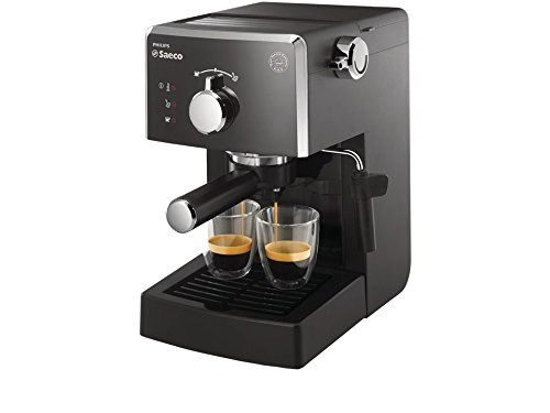 Saeco HD8423/11 - Máquina de café espresso manual, 1450 W, color negro