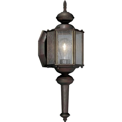 Progress Lighting P5773-19 1 Light Outdoor Sconce Roman BronzeCollection ()