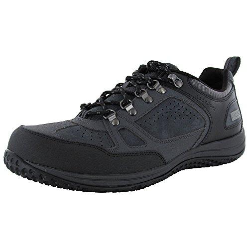 M Toe Guard Oxford Shoe,Dark Shadow/Griffin/Black 2, US 10 (Rockport Washable)
