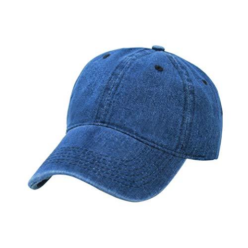ChoKoLids Blank Hats by Colors | Dad Hat Baseball Cap Bucket Trucker Hat Beanie | Unisex | Low Profile (Denim, PC103 Dark Denim)