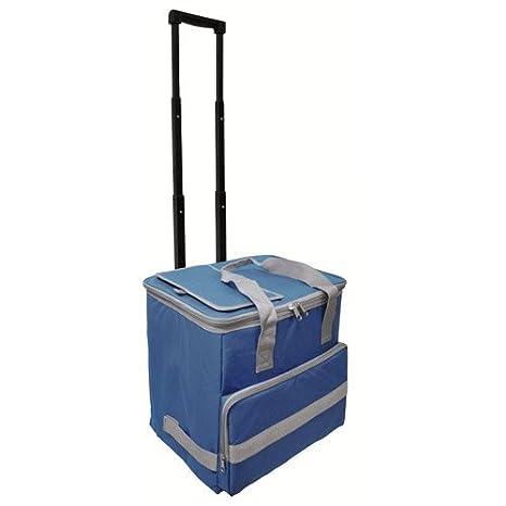 Papillon 5080126 Nevera Bolsa Termica 38 litros Azul Trolley ...