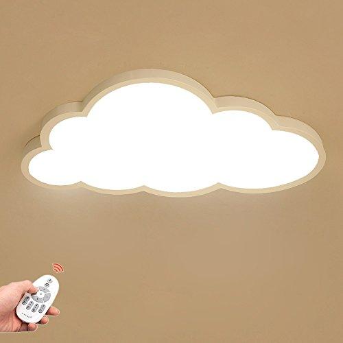 Luz de techo LED Ultra-delgada 5 cm Nubes Lámpara de techo Luz de techo del dormitorio Luz de techo para niños y niñas…