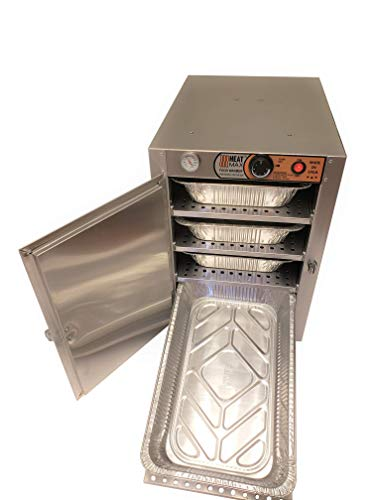 HeatMax 162224 Party Catering Full Size Tray Electric Hot Box Food Warmer