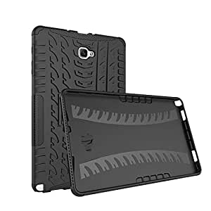 Shock Proof Samsung Tab A 10.1 inch/P580 (with Pen) Case- Black