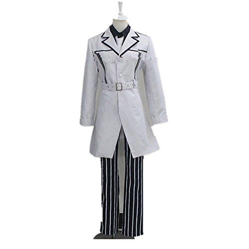 Tokyo Ghoul Sasaki Haise Kaneki Ken Unisex Uniforms Cosplay (60's Ken Costume)