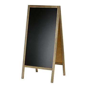 Placa publicitaria (cliente Tope 118 x 56 cm Pino - Pizarra ...
