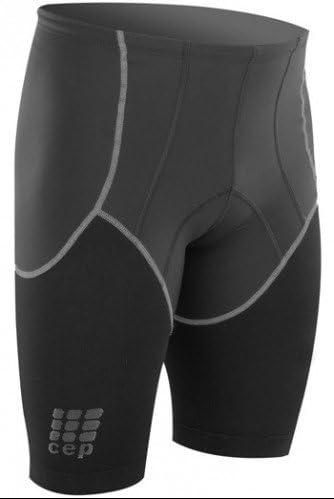 W1215C Triathlon Compression Shorts Black - 2 CEP Mens Dynamic