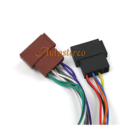 Autostereo Car Radio Stereo Cable Wire Harness CD Plug for PIONEER DEH-series 2010+ 16 pin ISO female Radio Receiver Replacement Wire Harness Cable for Pioneer DEH-series 2010+ 23x10mm (Car Stereo Iso)