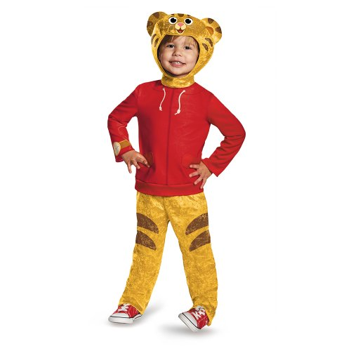 Tiger Costumes Child (Daniel Tiger's Neighborhood Daniel Tiger Classic Toddler Costume, Large/4-6)