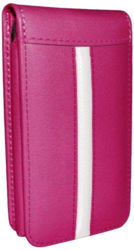 Piel Frama Ledertasche Classic Magnetic RACE Edition Flamingo/Weiß für Apple iPhone 5 / 5S