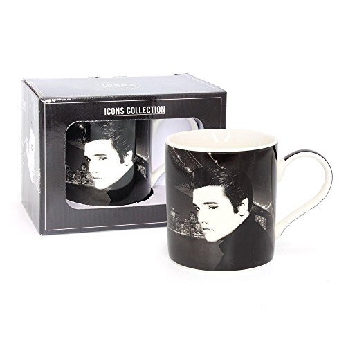 Lesser & Pavey Icons Collection Porcelain Mug - Elvis Presley